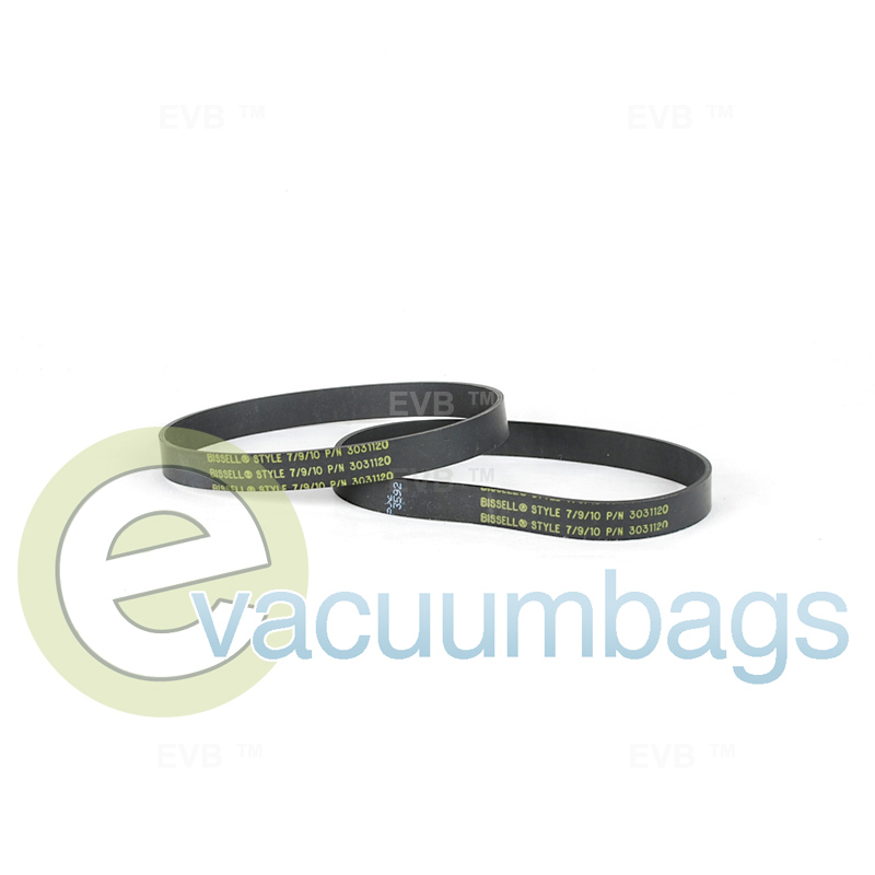 BISSELL Style 7//9//10 Replacement Belts 2-pack