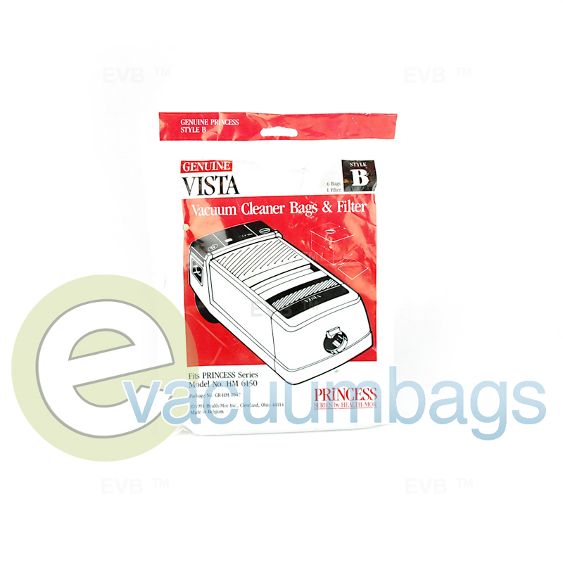 Filter Queen Vista Princess Hm 6150 Vacuum Bags Gr Hm 2047