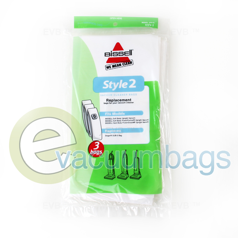 Bissell Style 2 Vacuum Bags 32018