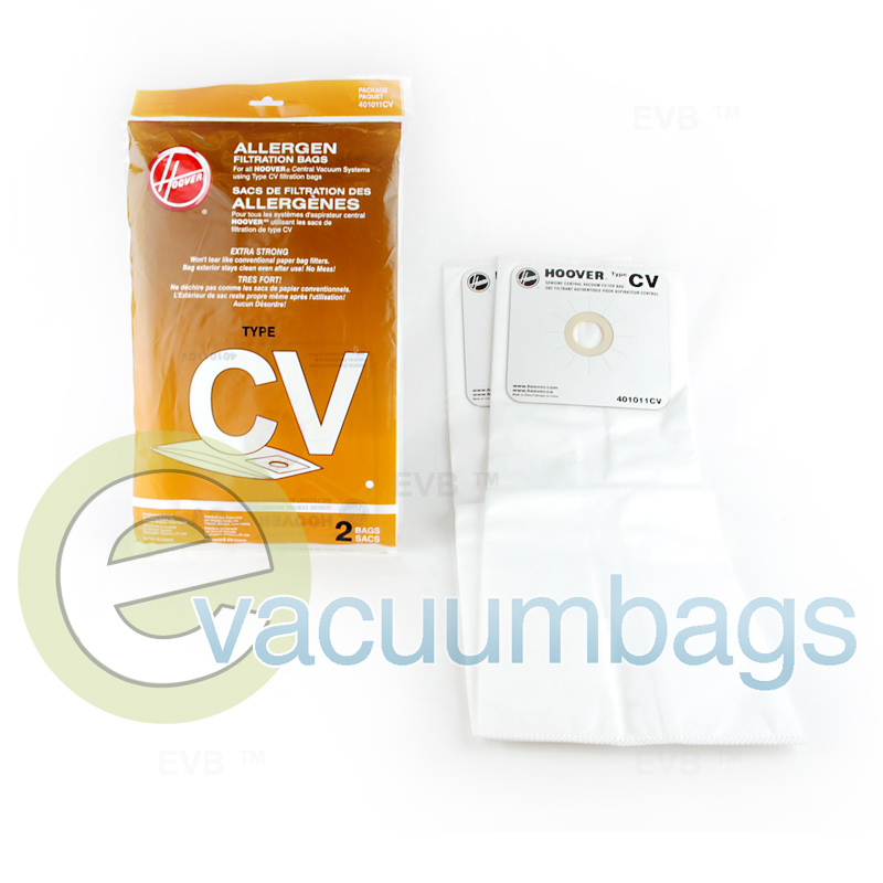 Hoover Style Cv Vacuum Bags 2 Pack 401011cv