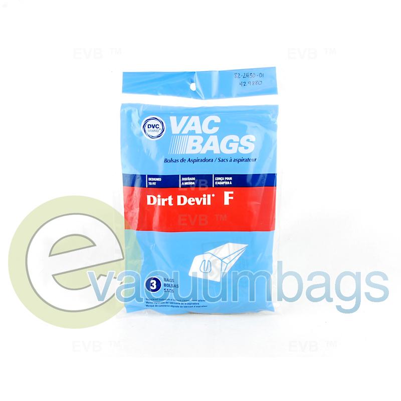 Dirt Devil Type F Vacuum Bags 429880