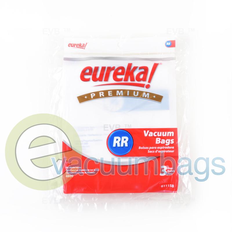 Eureka 4800 Series Style Rr Paper Vacuum Bags