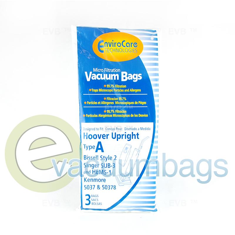 Hoover Type A Envirocare Vacuum Bags 809