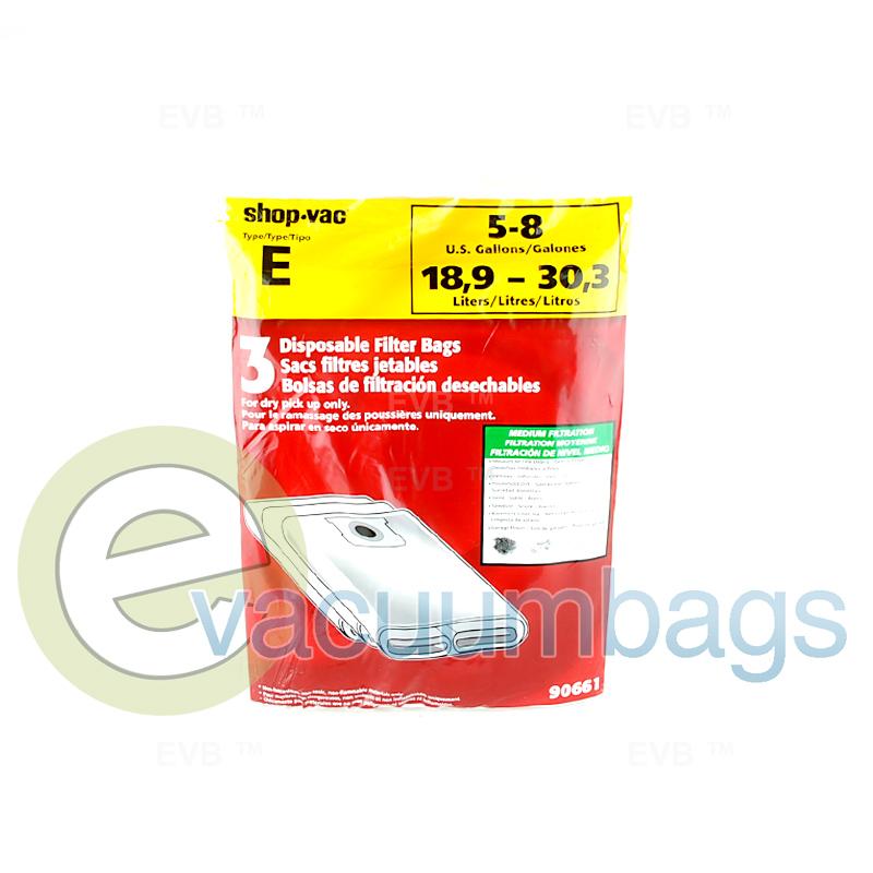 Shop Vac Type E 5