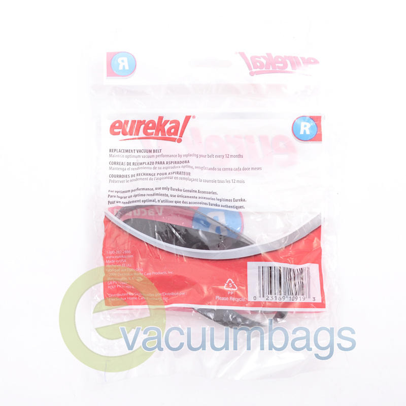 Shark Vacuum Models >> Eureka Style R 61110B Flat Vacuum Cleaner Belt