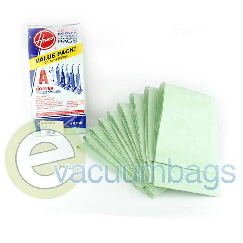 Hoover Type A Top Fill Vacuum Bags 9