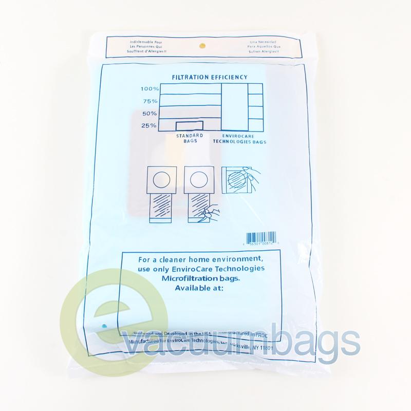 Riccar Supralite Simplicity Type F Vacuum Bags 812