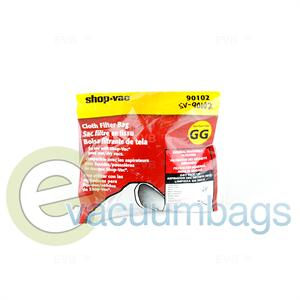 Shop Vac Type GG Canister Cloth Filter Bag