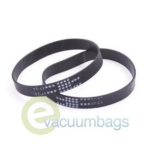 Eureka EXT U Extended Life Vacuum Belts 2 Pack 61120D 12